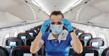 IATA: ارتش آمریكا خطر كم ابتلا به COVID-19 را هنگام پرواز تأیید می كند