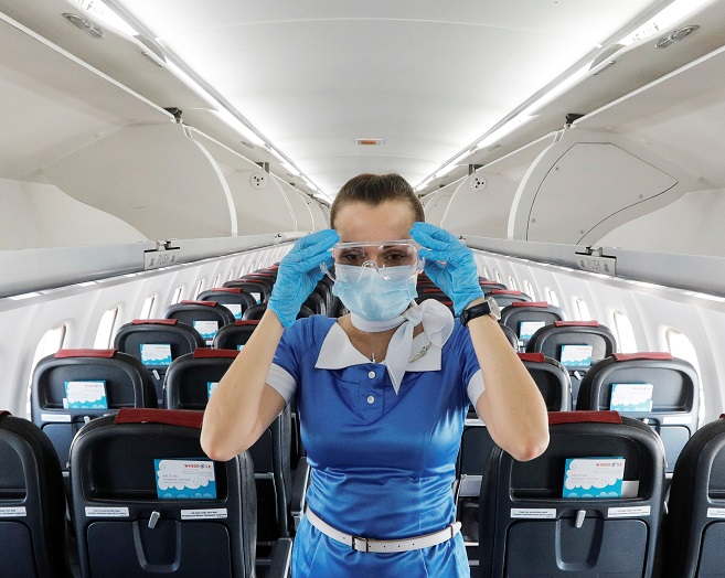 IATA: US Military confirms low risk of catching COVID-19 on flight