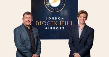 Jota Aviation lands at London Biggin Hill Airport