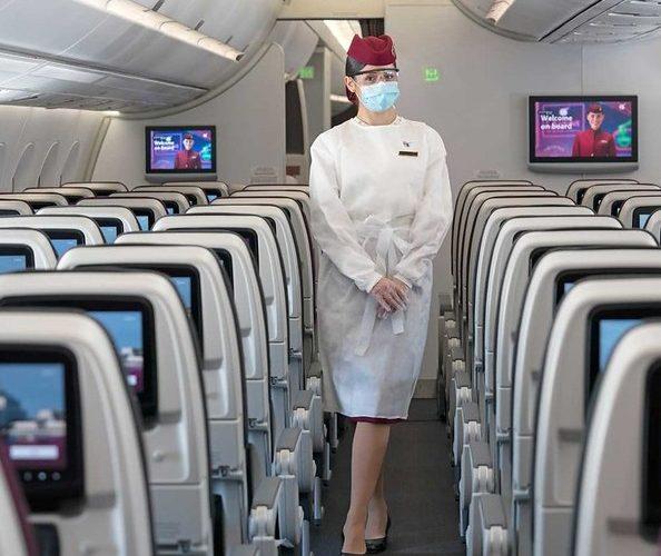 Qatar Airways: მგზავრების 99.988% COVID- 19-სგან თავისუფალი