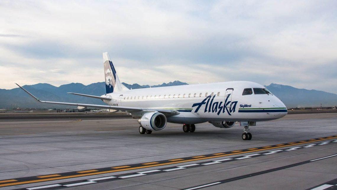 Alaska Airlines spouští službu Embraer 175 na Aljašce