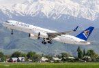 """""""Air Astana"""": rudens-žiemos sezonu bus tęsiami tarptautiniai skrydžiai"""