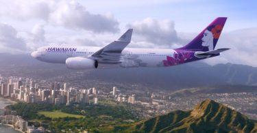 Ny Hawaiian Airlines dia miarahaba ireo mpitsangatsangana any Boston sy New York