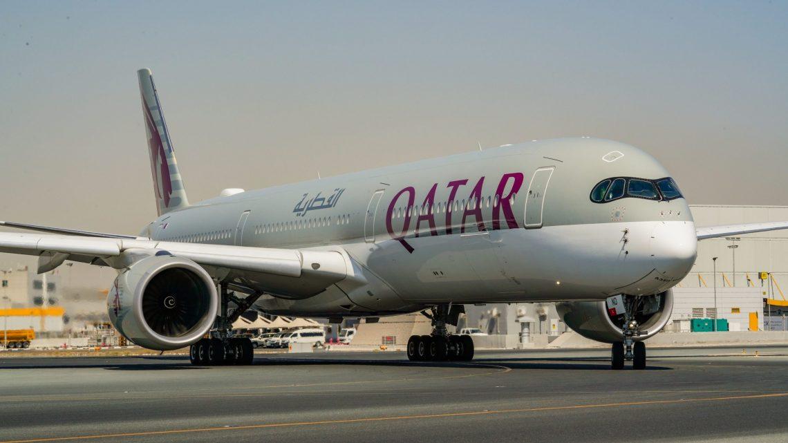 កាតាអ៊ែរវ៉េទទួលយន្ដហោះប្រភេទ Airbus A350-1000 ថ្មីចំនួន ៣ គ្រឿង