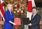 Groussbritannien a Japan ënnerschreiwen de Post-Brexit Fräihandelsofkommes