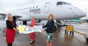 Belfast City Airport forbinder Nordirland og Wales igen med Cardiff-service