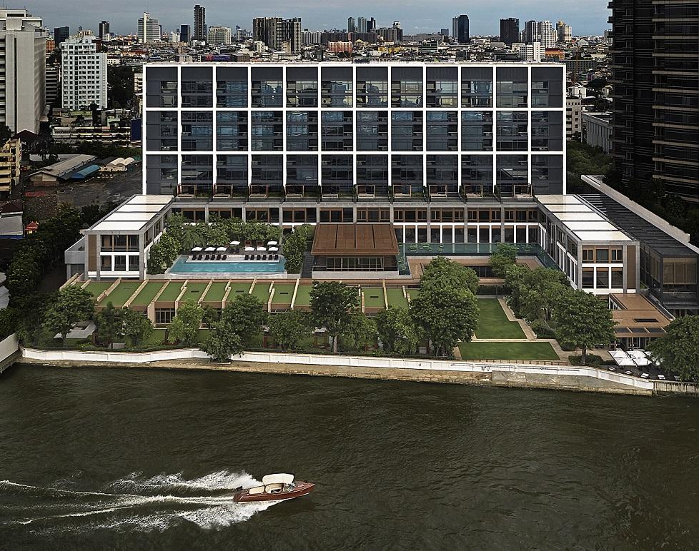 O hotel Capella Bangkok abre às margens do Rio Chao Phraya