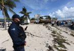 Enpak limite nan Siklòn Delta pèmèt relouvri rapid nan touris Meksiken Karayib la