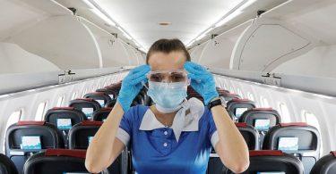 IATA: COVID-19 ट्रांसमिशन इनफ्लाइट का जोखिम कम है