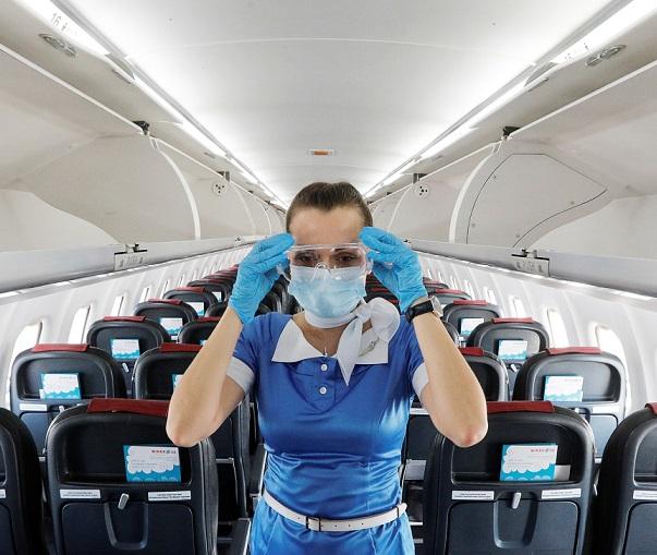 IATA:COVID-19感染機内感染のリスクは低い