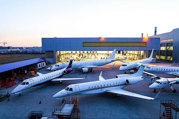 ExecuJet Haite completes largest business jet inspection in China