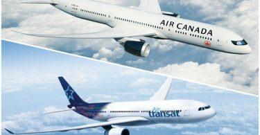 Air Canada и Transat AT Inc. сключват изменена сделка за комбинация от две компании