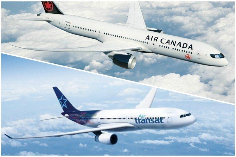 Air Canada et Transat AT Inc. concluent une transaction modifiée pour le regroupement de deux sociétés