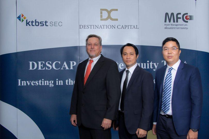 DESCAP1プライベートエクイティトラストがタイで最大8軒のホテルを買収