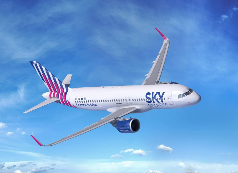 Airbus získává nového zákazníka, protože SKY express objednává čtyři tryskáče A320neo