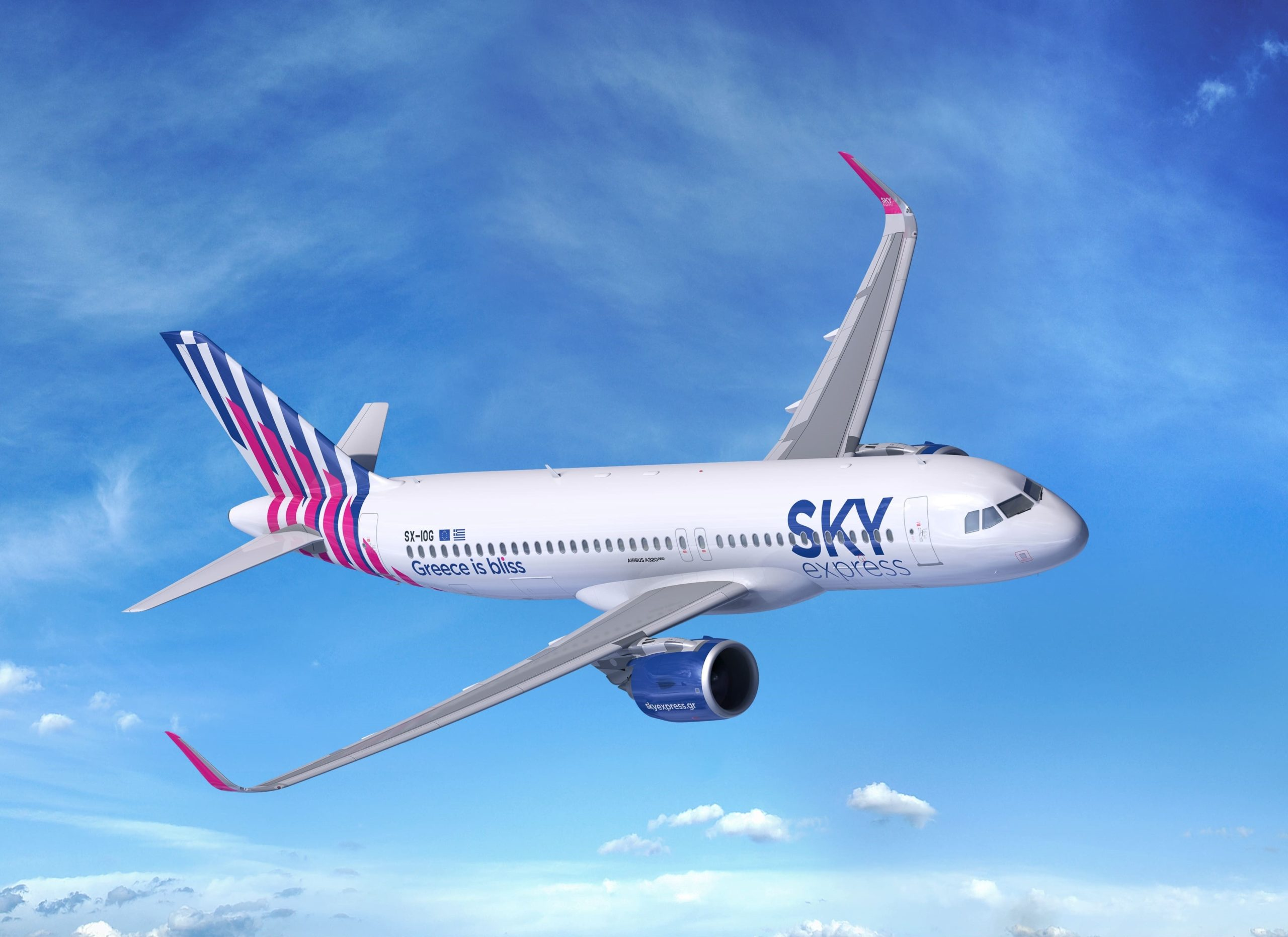 Airbus gains new customer as SKY express orders four A320neo jets