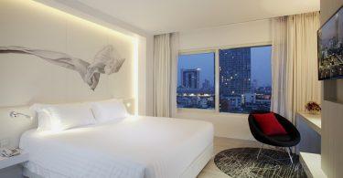 Kev ntxhov siab tsis pub nyob twj ywm ntawm Centara Watergate Pavillion Hotel Bangkok