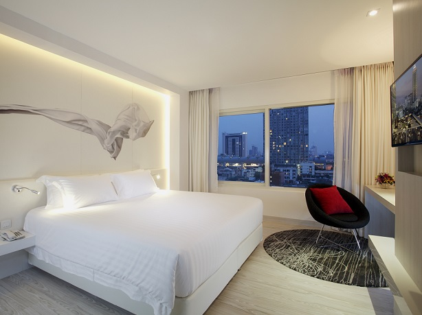 Estadia sem estresse no Centara Watergate Pavillion Hotel Bangkok