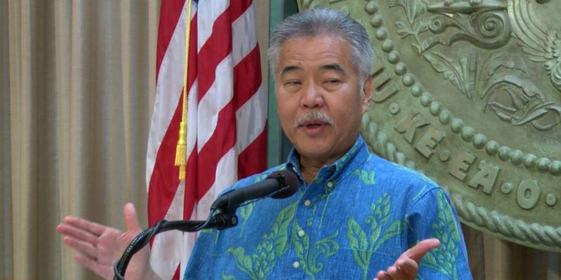 ჰავაის გუბერნატორი Ige ხუთშაბათს ჰავაის ტურიზმს აცხადებს