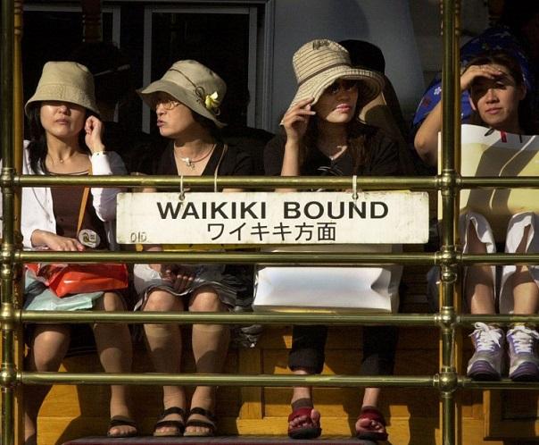 Havaijin ja Japanin matkatietotestaus etenee