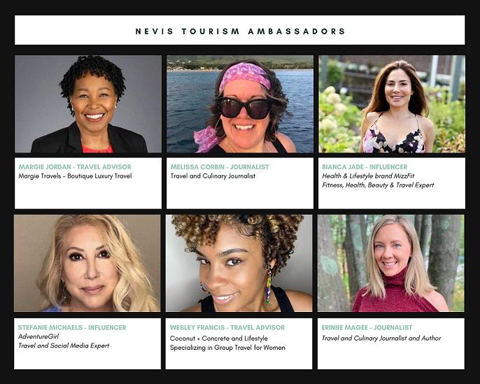 Nevis Tourism uruchamia program ambasadorski