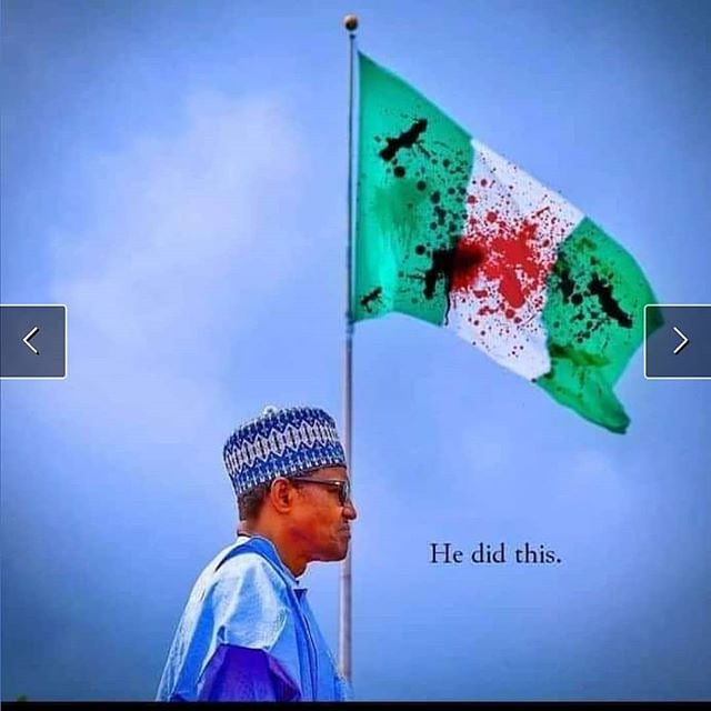 致命的な混沌のナイジェリア
