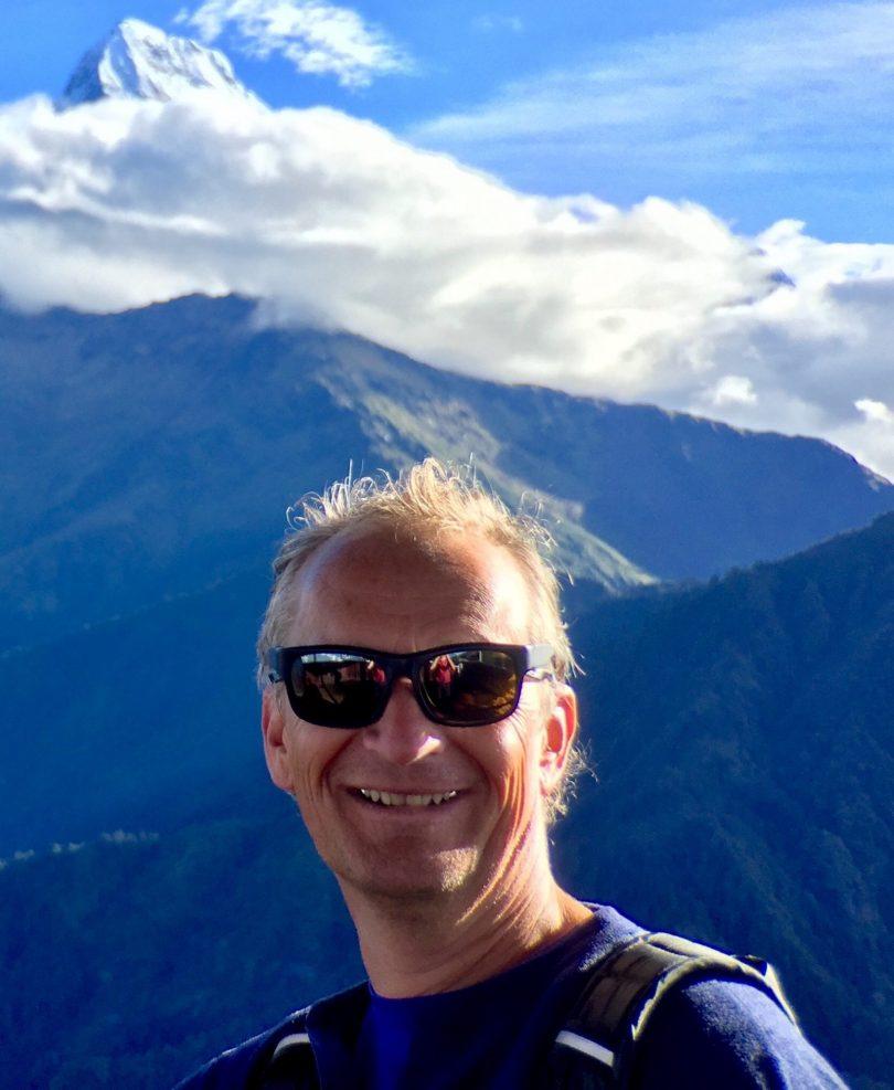 Nejšťastnější muž v cestovním ruchu: Paul Rogers z Planet Happiness
