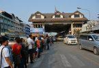 タイはCOVID-19によりミャンマーの国境管理を強化