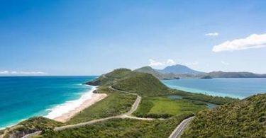 St. Kitts & Nevis Rov Ntaus Ciam Tebchaws