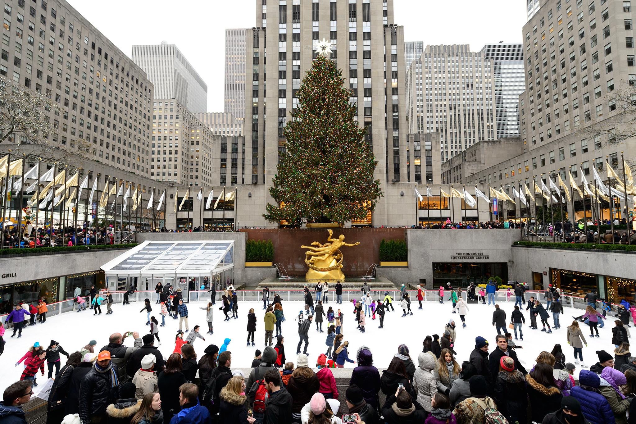 The Rink at Rockefeller Center opens on November 21