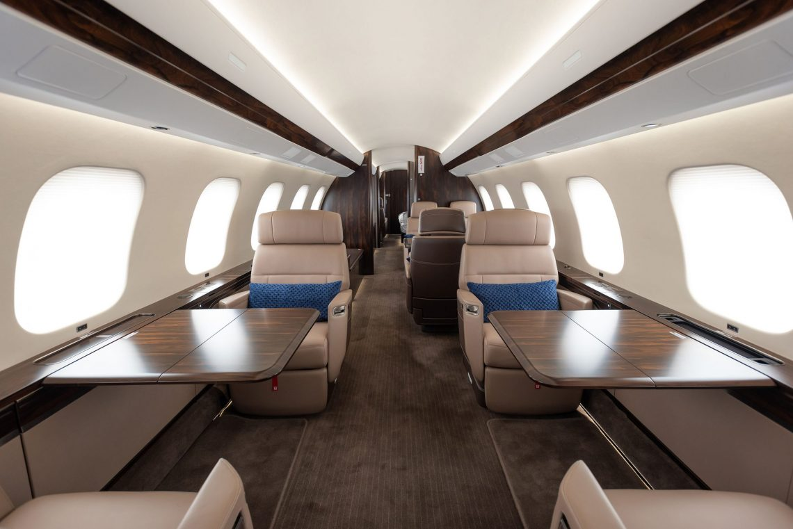 Phenix Jet ngirim pesawat Bombardier Global 7500 sing pertama