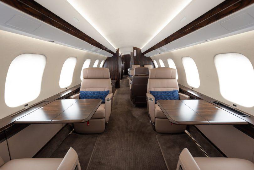 فینکس جیٹ اپنے پہلے بمبارڈیئر گلوبل 7500 طیارے کی ترسیل لے رہی ہے