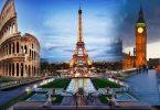 'Sբոսաշրջային թեժ կետերը փայլում են Եվրոպայի ճանապարհորդական մթության մեջ