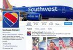 Southwest Airlines odnotowuje dwukrotny wzrost liczby rozmów influencerów na Twitterze