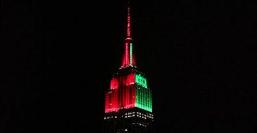 The Empire State Building announces details of its holiday festivities