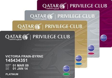 Qatar Airways reduktas la nombron de mejloj necesaj por premiaj flugoj je 49%