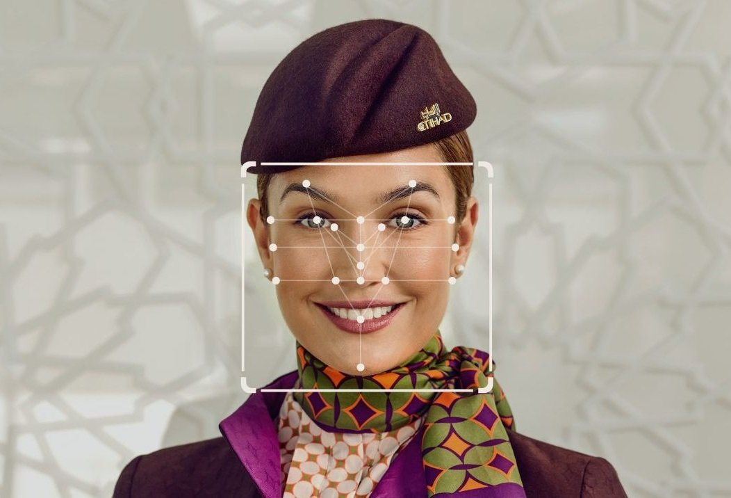 Etihad Airways introduces facial biometric check-in for cabin crew