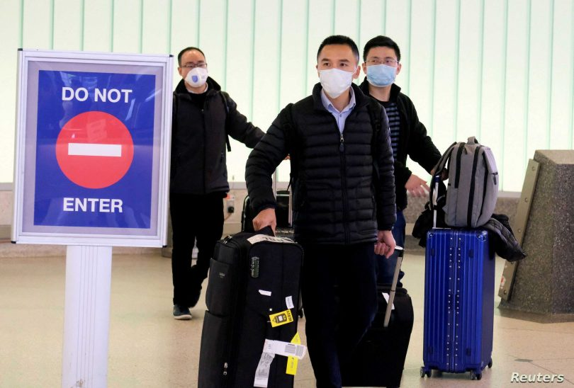 China suspends entry of visa and residency permit holders from 'relevant' countries