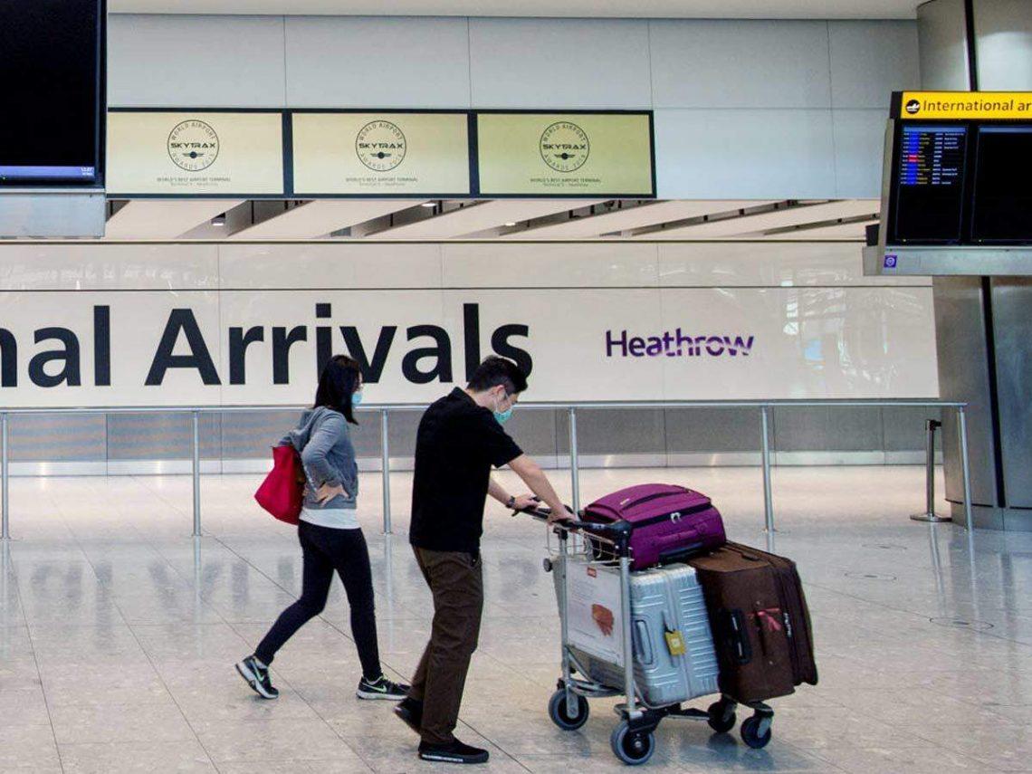 ब्रिटेन डेनमार्क से सभी नए आगमन पर कंबल प्रवेश प्रतिबंध जारी करता है