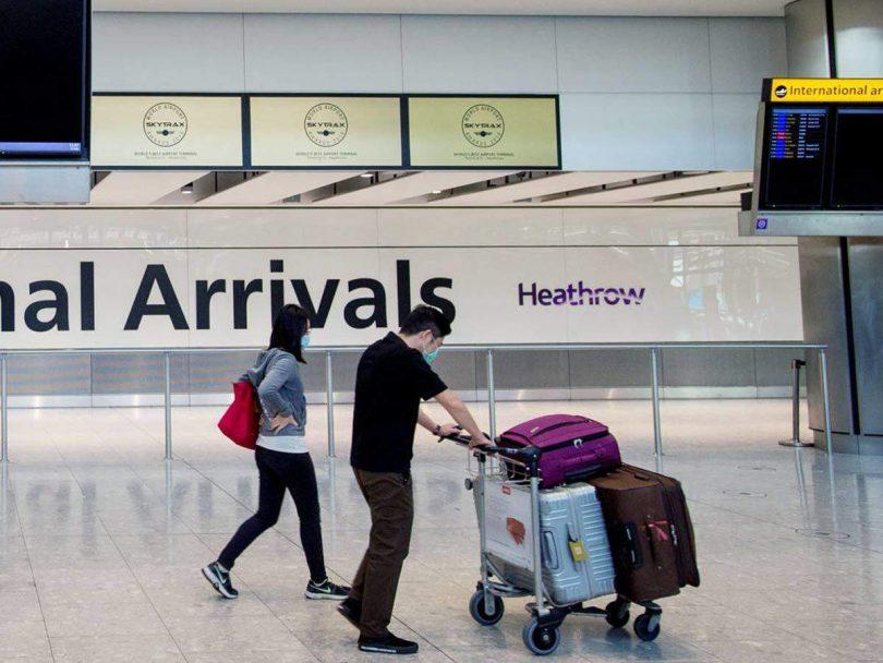 Spojené království vydává všeobecný zákaz vstupu pro všechny nově příchozí z Dánska