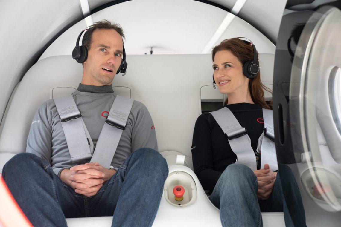 Virgin Hyperloop conclui o primeiro teste tripulado bem-sucedido