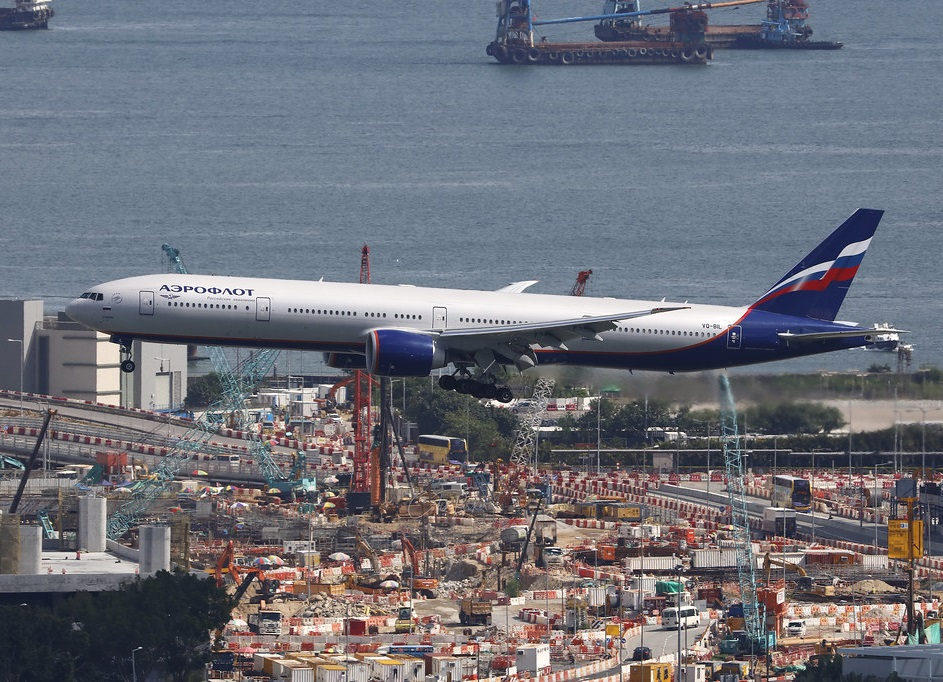 Russian Aeroflot resumes Moscow-Hong Kong flights