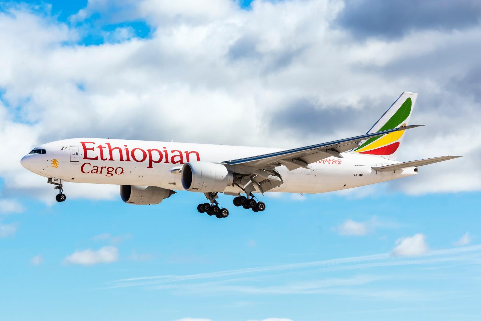 Ethiopian Cargo launches cargo flights Incheon to Atlanta via Anchorage