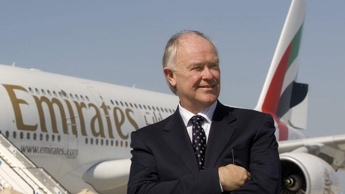Emirates CEO Sir Tim Clark foarsizzing foar loftfeart yn 2025?