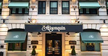 Ալգոնկին հյուրանոցը ՝ ավելի լավ, քան Puritan- ը