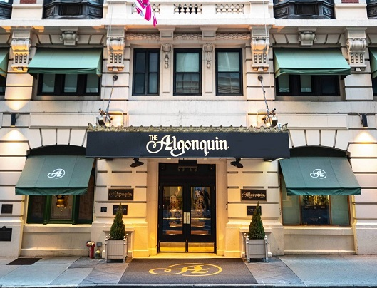 The Algonquin Hotel: Better than The Puritan