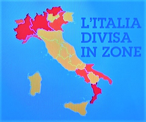 Second Italy COVID-19 Wave Divides Country into Zones