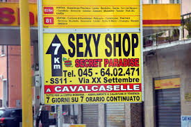Yes to Italian Sex Shops But No to Travel Agencies?