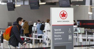 Air Canada tilbyder valgfri biometrisk boarding for USA til Canada flyvninger