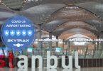 فرودگاه استانبول رتبه 5 ستاره را به خود اختصاص داد